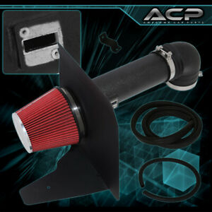 For 2010 2015 Chevy Camaro 6 2l Ss 4 Cold Air Intake Heat Shield Black Pipe