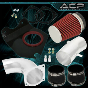 For 1994 1995 Mustang V8 5 0 Engine Cold Air Intake Induction 3 5 Filter Polish