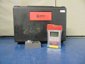 Quest Technologies Safecheck Safelog 100 Gas Monitor R944y