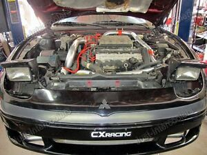 Cxracing Twin Turbo Intercooler Kit For Mitsubishi 3000gt Dodge Stealth Td04 New