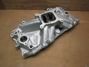 Edelbrock 2745 Torker 2 r Big Block Chevy Square Port Intake Manifold 396 427