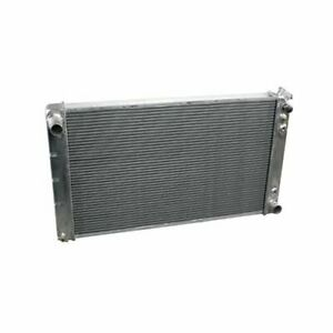 Summit Racing Radiator Direct Fit Aluminum Natural Chevy Pontiac Oldsmobile Each