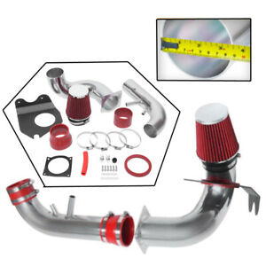 For 96 04 Ford Mustang Gt 4 6l V8 3 5 Cold Air Intake System Kit Red Filter