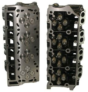 Ford 6 0 F250 F 350 Truck Turbo Diesel Cast 080 Cylinder Heads Pair 02 06 18mm