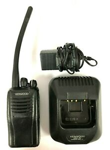 Kenwood Tk 2360 k 136 174 Mhz Vhf Two Way Radio 5w 16 Channel W Ksc 30 Charger