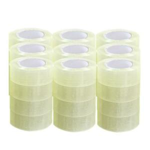 36 Rolls 2 Mil 330ft 1 9 X 110 Yards Clear Carton Sealing Packing Package Tape