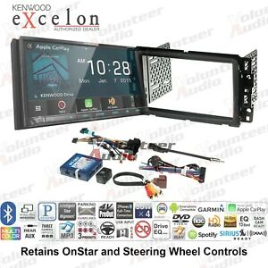 Kenwood Dnr876s Double Din Car Stereo Radio Dash Install Kit