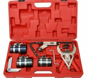 Piston Ring Expander Compressor Service Tool Set Auto Engine Motor Cleaning