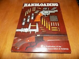 HANDLOADING Reload Reloading Cartridges Ammo Bullet Guns Gun Firearms NRA G Book