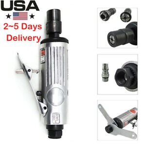 1 4 Angle Die Grinder Pneumatic 20000rpm Polisher Cleaning Cutting Air Tool Us