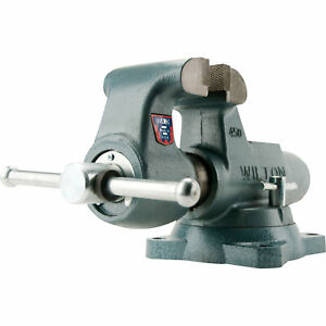 Wilton Machinist Round Channel Bench Vise 5in Jaw Width Model 500s