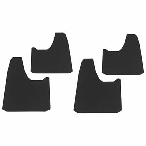 Universal Splash Guards Mud Flaps 4pc For Most Full Size Trucks