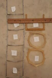 8 Dental Frame For Rubber Dam Assorted 5 Stainless Steel 3