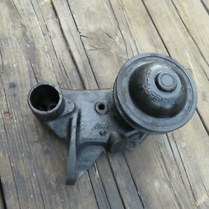 1948 49 50 51 52 53 Ford Truck Script Flathead V8 Drivers Water Pump Wide Pulley