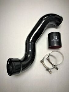 Evolution Racewerks Bmw F06 F12 F13 640i F10 535i Lower Chargepipe Black