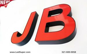 New Channel Letter 12 Business Store Front Signs Custom Made