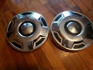 1975 1991 Ford Truck 1 2 Ton Dog Dish Hubcaps Set