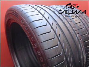 Two Tires Likenew Continental 275 40 20 Contisportcontact Runflat Nopatch 50953