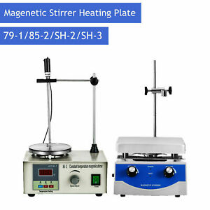Magnetic Stirrer With Heating Plate Hotplate Digital Mixer Stir Bar Lab Sh2 85 2