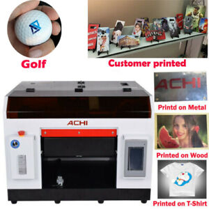 Achi A3 Uv Printer 1390 Printed Head Rotary Holder Cylindrical 3d Embossed Us