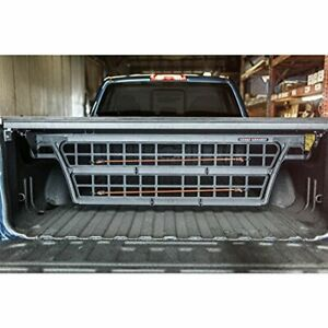 Roll n lock Cm220 Black Cargo Manager Rolling Truck Bed Divider