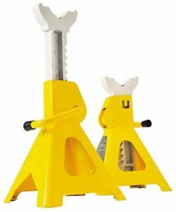 Performance Tool W41023 6 Ton 12 000 Lbs Capacity Heavy Duty Jack Stand Set