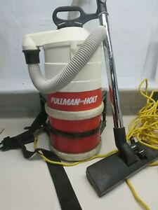 Pullman Holt Back Pack Portable Janitorial Vacuum 8 5 Amp