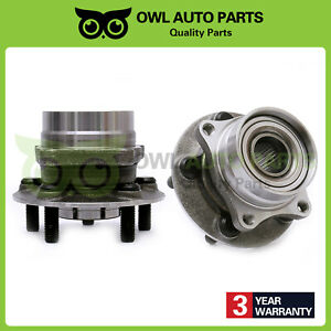 Pair Of 2 Front Wheel Hub Bearing For 2004 2009 For Toyota Prius 5 Lug 513265