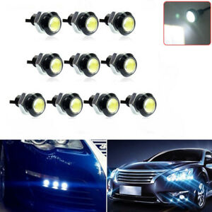 10x 23mm Eagle Eye White Led Waterproof Car Backup Reverse Turn Signal Light
