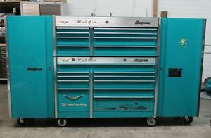 Snap on Tool Box Teal 57 Chevy Bel Air W Side Extensions Extras Krl761 791