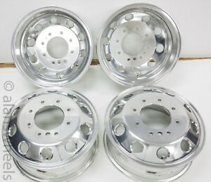 2019 2020 Ram 3500 Dually Only Drw 17 Factory Oem Polished Wheels Rims 1753