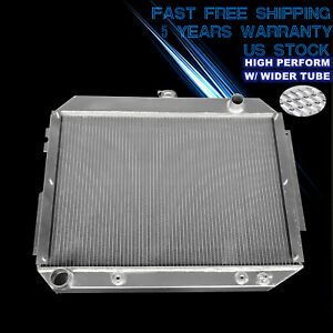 3 Row For 1966 1970 67 68 69 70 Dodge Plymouth 7 2l Aluminum Radiator