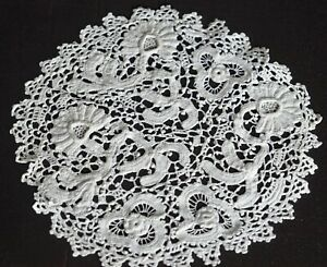 Lot Of Vintage Antique Princess Lace Doilies Coasters Cocktail Rounds Uu910