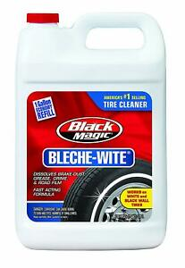 Bleche Wite Tire Cleaner 1 Gallon Cleans Black Walls White Walls Lettering