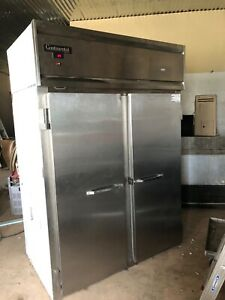 Continental Commercial Stainless Steel Freezer