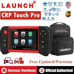 Launch X431 Crp Touch Pro Obd2 Code Reader Diagnostic Scanner Tool Abs Oil Reset
