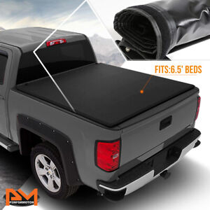 Vinyl Soft Top Roll Up Tonneau Cover For 00 06 Tundra Pickup 6 5 Feet Truck Bed