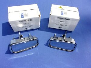 New 1969 82 Corvette Outside Door Handles Pair Gm Licensed Trimparts Usa Made