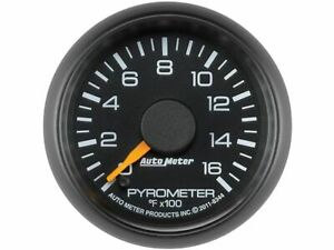 For 2001 2006 Gmc Sierra 2500 Hd Boost Pyrometer Gauge Auto Meter 77355zs 2002
