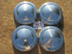 1970 71 72 73 Mercury Comet Gt poverty Dog Dish Hubcaps Set Of 4