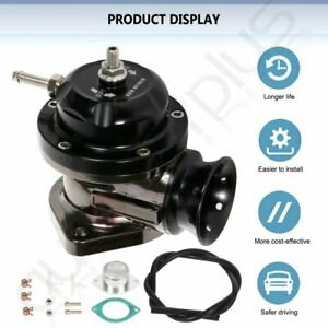 Universal Billet Anodized Type Rs Turbo Blow Off Valve Bov 2 5 Flange Pipe Blk