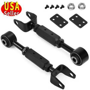 2pc Rear Upper Adjustable Control Arms For 2003 11 Honda Element
