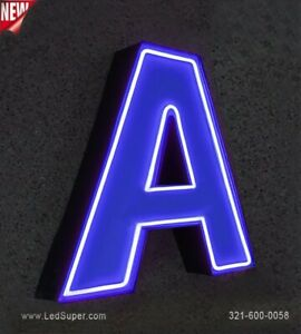 Neon Channel Letter 18 New Business Sign Custom Made
