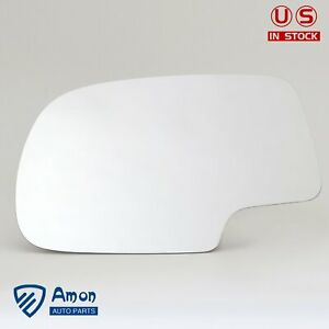 New For Chevy Gmc Truck Suv Tahoe Yukon Suburban Left Driver Side Mirror Glass