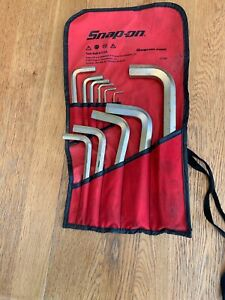 Snap On Tools 11pc Metric Allen Wrench Set W Bag Part C1209