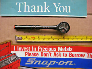 Snap on 1 4 Ratchet Gtm 739 Industrial Finish Usa