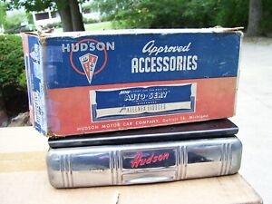 Original 40s Nos Hudson Motor Co Auto Accessories Tissue Dispenser Vintage Part