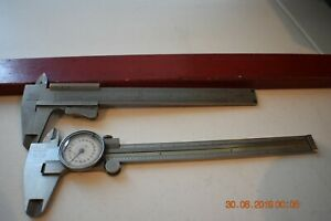 2 Helios Calipers 1 In Inches 1 In Cm One With Dial Both Have Cases Germany