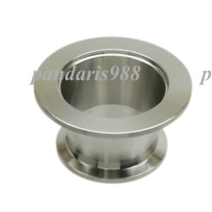 Stainless Steel 304 Vacuum Reducer Conical Flange Adapter Kf40 To Kf25