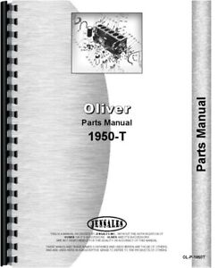 Oliver 1950 t Tractor Parts Manual Catalog Diesel